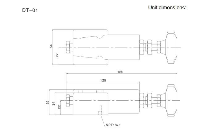 DG hydraulic cylinder pressure relief valve,hydraulic pump pressure relief valve
