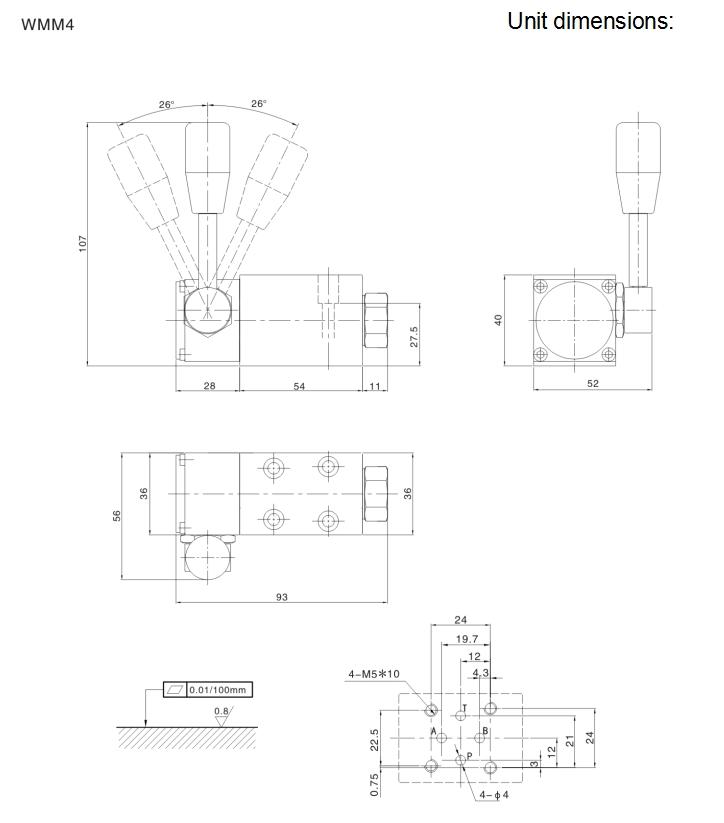 WMM4-70 manual control valve