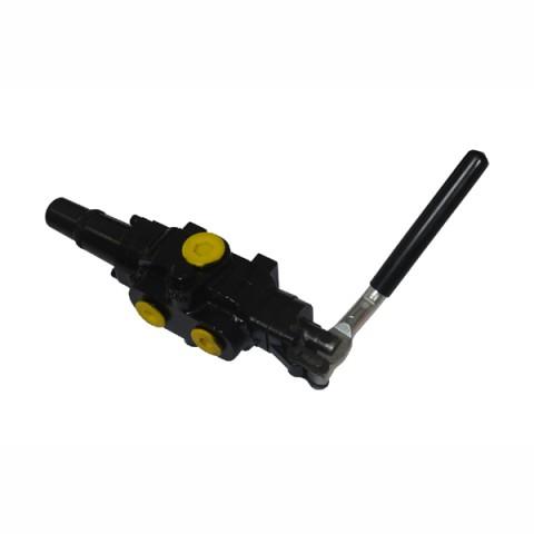 Log splitter hydraulic valve
